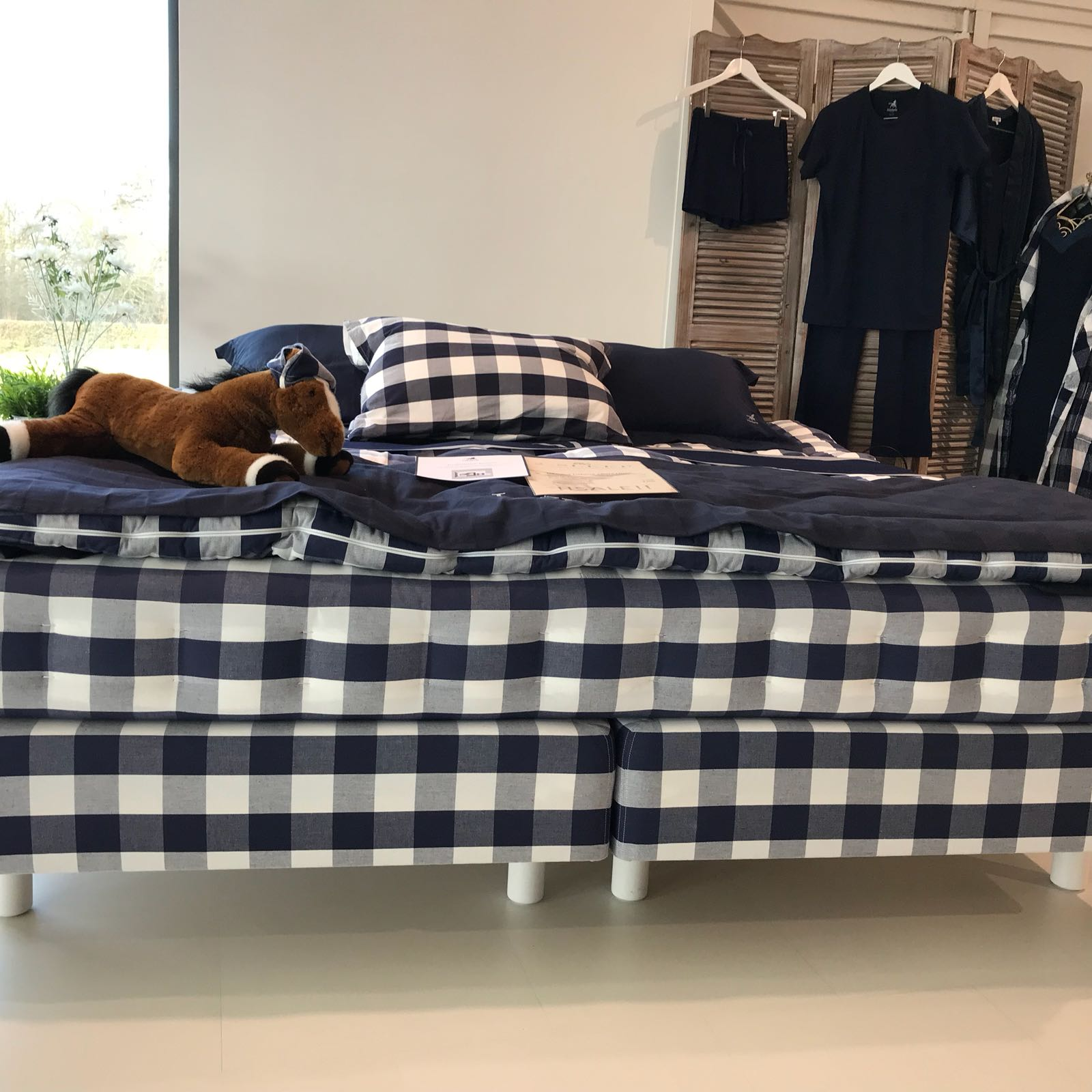 Hästens Luxuria Blue Check NU: 8.075€